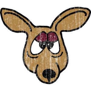 Tiere und andere Kreaturen: aggressives Känguru