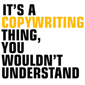 Copywriting thing