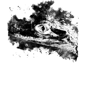 Alligator Baby Auge wsbbw