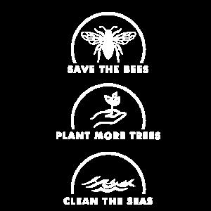 Save the Planet Bienen Bäume Umwelt umweltschutz