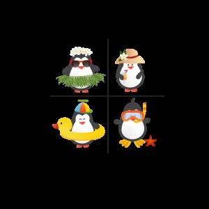 Pinguin Sommer