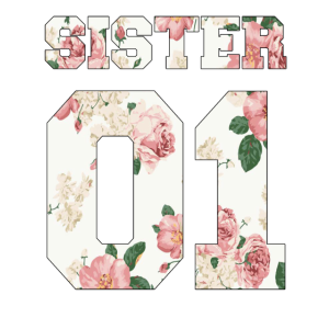 Schwester 01 Geschenk Trikot Zahl Geschenkidee