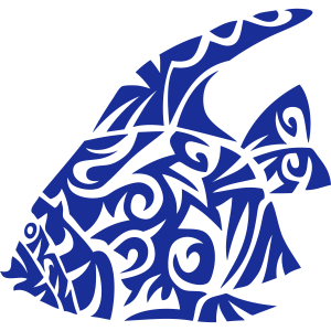 exotische Fische Fisch Stammes 82