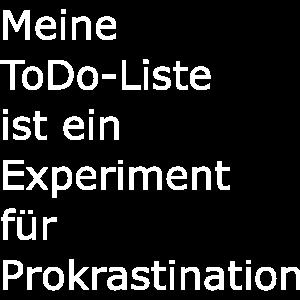 Prokrastination, ToDo Liste
