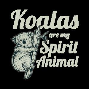 Koala Are My Spirit Animal Geschenkidee