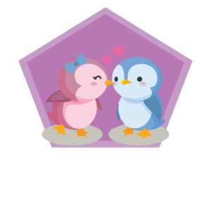 Liebende Vögel Valentinstag