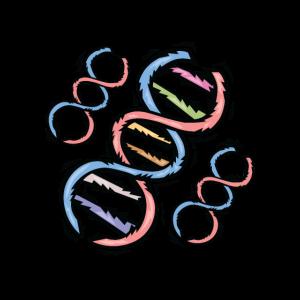 DNA DNS Stränge Bunt