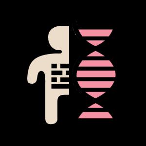 DNS DNA Code Mensch Logo
