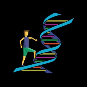 DNA DNS Mensch Bunt Logo