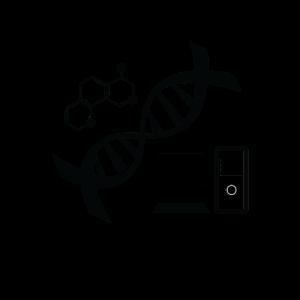 Es ist in meiner DNA DNS Computer Nerd Chemie