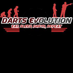 Darts evolution dartscheibe dartspieler geschenk