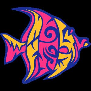 1107 Stammes exotische Fische