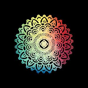 Buntes Boho Mandala