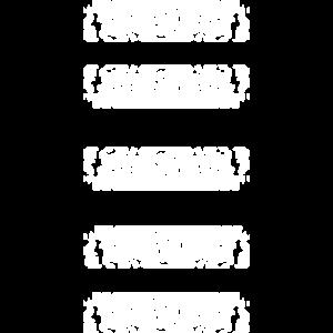 Balken in weiß