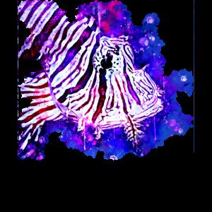 giftiger exotischer Löwenfisch ws