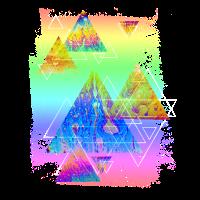 Neon-Triangle