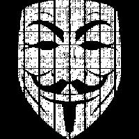 Matrix Guy Fawkes Maske