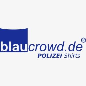 blaucrowd logo mit schrift