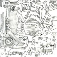 Muster Wandbild