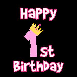 1. Geburtstag 1 Jahr Kindergeburtstag Geschenk