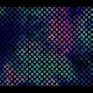 Farbverlauf Neon Gradient Punkte Muster Pattern
