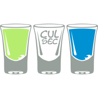 Shooter Glas Alkohol schlucken
