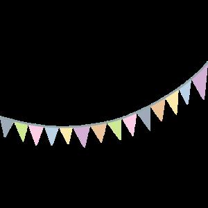 Wimpelkette skandinavisch Dekoration Kinderzimmer