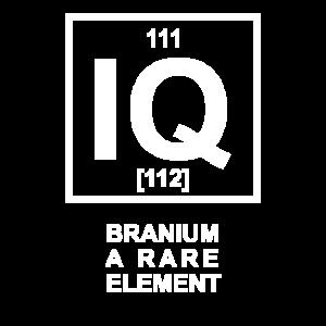 Branium - a rare Element - Chemisches Element IQ