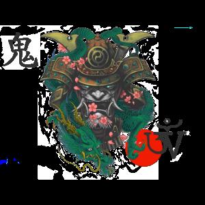 Dämon Kabuto Oni Drache