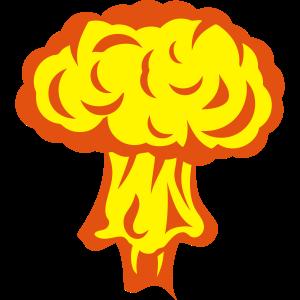 Atomexplosion Kernpilz 306