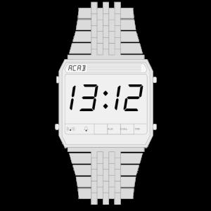 acab shirt gift digital watch geschenk 1312 uhr