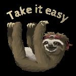 Take it easy Luiaard