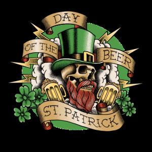 St. Patricks Day Tag des Bieres
