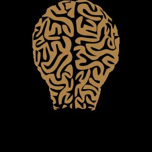 Gehirn Birne