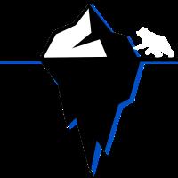 Polar Eisberg Mit Eisbär