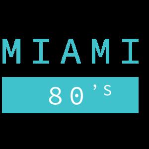 80s Miami 1980er Kid Spielzeug Geschenk Idee