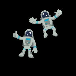 Spaceman Astronauten Geschenkidee