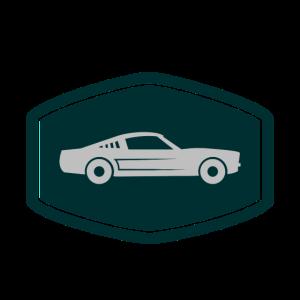 Musclecar Auto Sportwagen