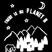 Plan B Erde Wald Planet Welt Geschenk Shirt