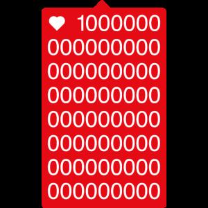 100000000000000 Follower T-Shirt