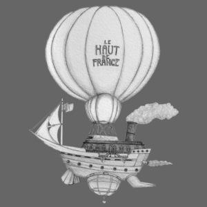 Bateau volant steampunk - Le Haut de France