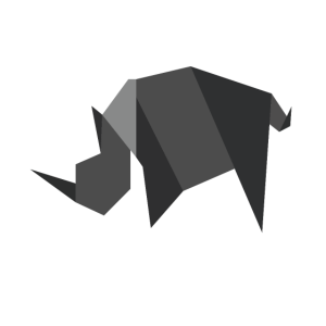 Nashorn Origami Polygon Style
