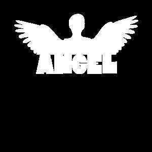 Angel - Engel mit Flügeln