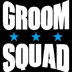 Groom Squad Bräutigam Junggesellenabschied JGA