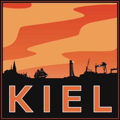 Kiel, Kieler Förde - Kiel, Norddeutschland - ort,Urlaub,Tourrist,Stadt,Souvenir,Reisen,Land,Heimat,Hauptstadt,Einheimisch