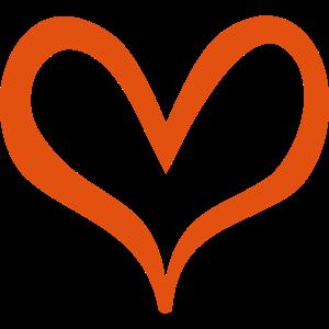 Herz mit dynamischer Konturbreite