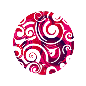 Sturm, abstrakte Wirbel