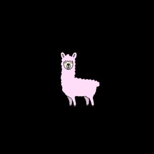 Lama - Don't need valentine have a llama - Alpaka