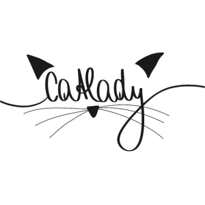 Catlady Katze Katzenfrau Katzenliebe Geschenk