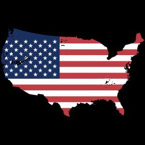 USA Vintage Flagge